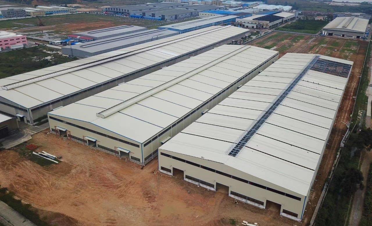 肇庆高要工业区独院重工业钢构70000方出租,证件齐全