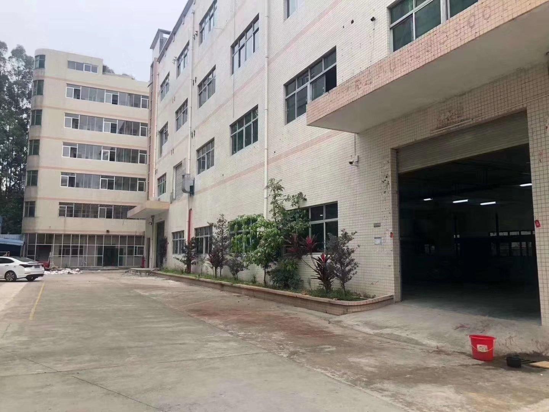 沙井占地4544m²厂房国有证建筑9100m²厂房出售