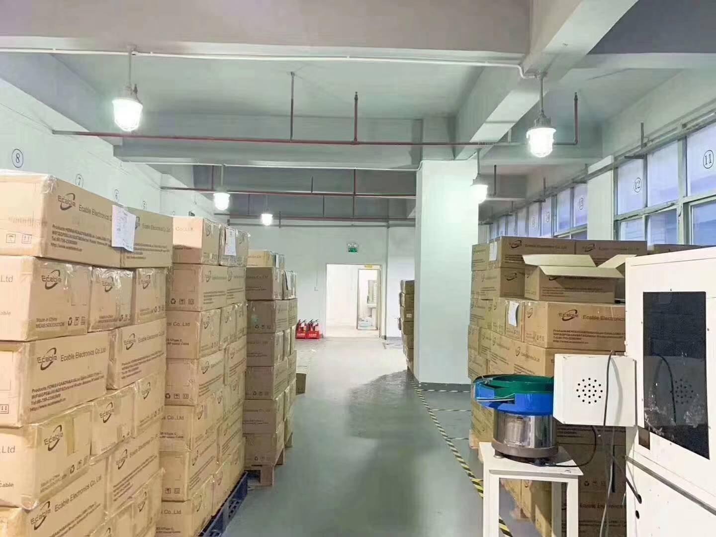福永和平高新科技园新出楼上豪华装修800平方、厂房格局方正,-图2