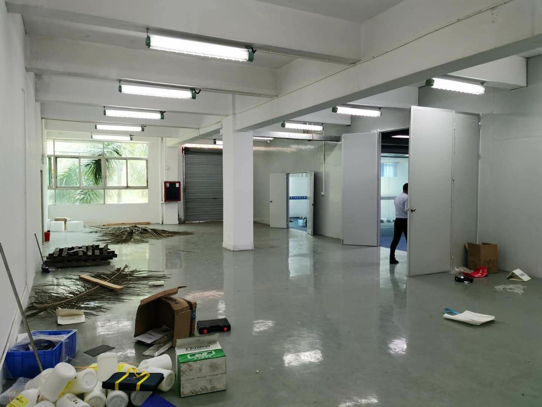 深圳龙华清湖轻轨站旁边新出精装修带办公室厂房780平出租-图5