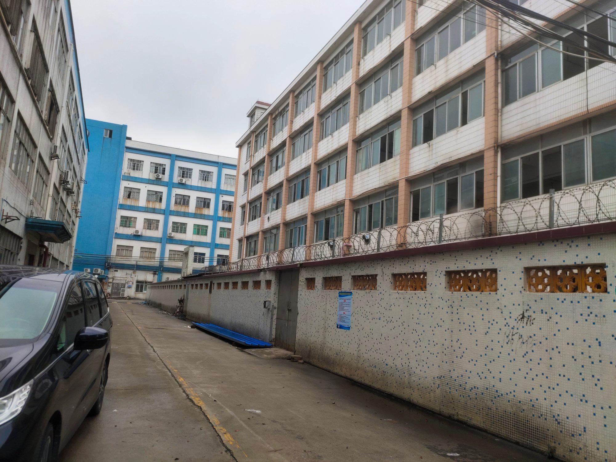 荔湾区龙溪大道旁独栋五层5000方厂房仓库招租