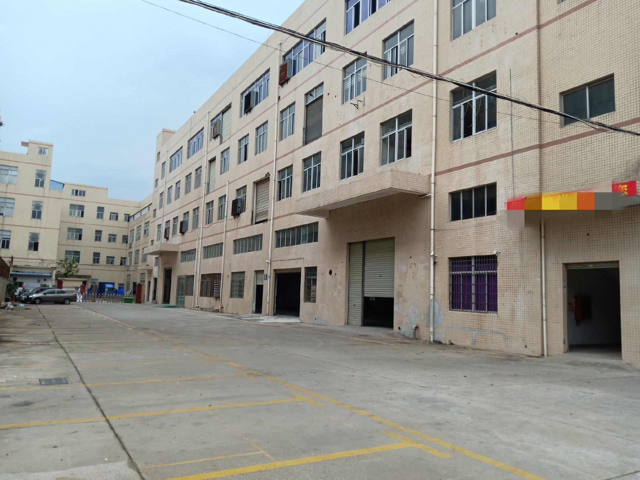 沙井西部工业区独院独栋1楼2楼4800平米厂房出租高速松福