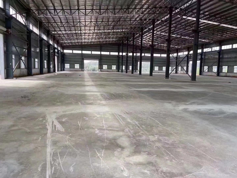 顺德新出钢构仓库厂房9800平米,高度10米,