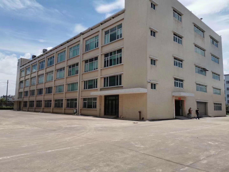 广东省中山市南朗镇原房东成熟工业园独门独院标准红本厂房出售