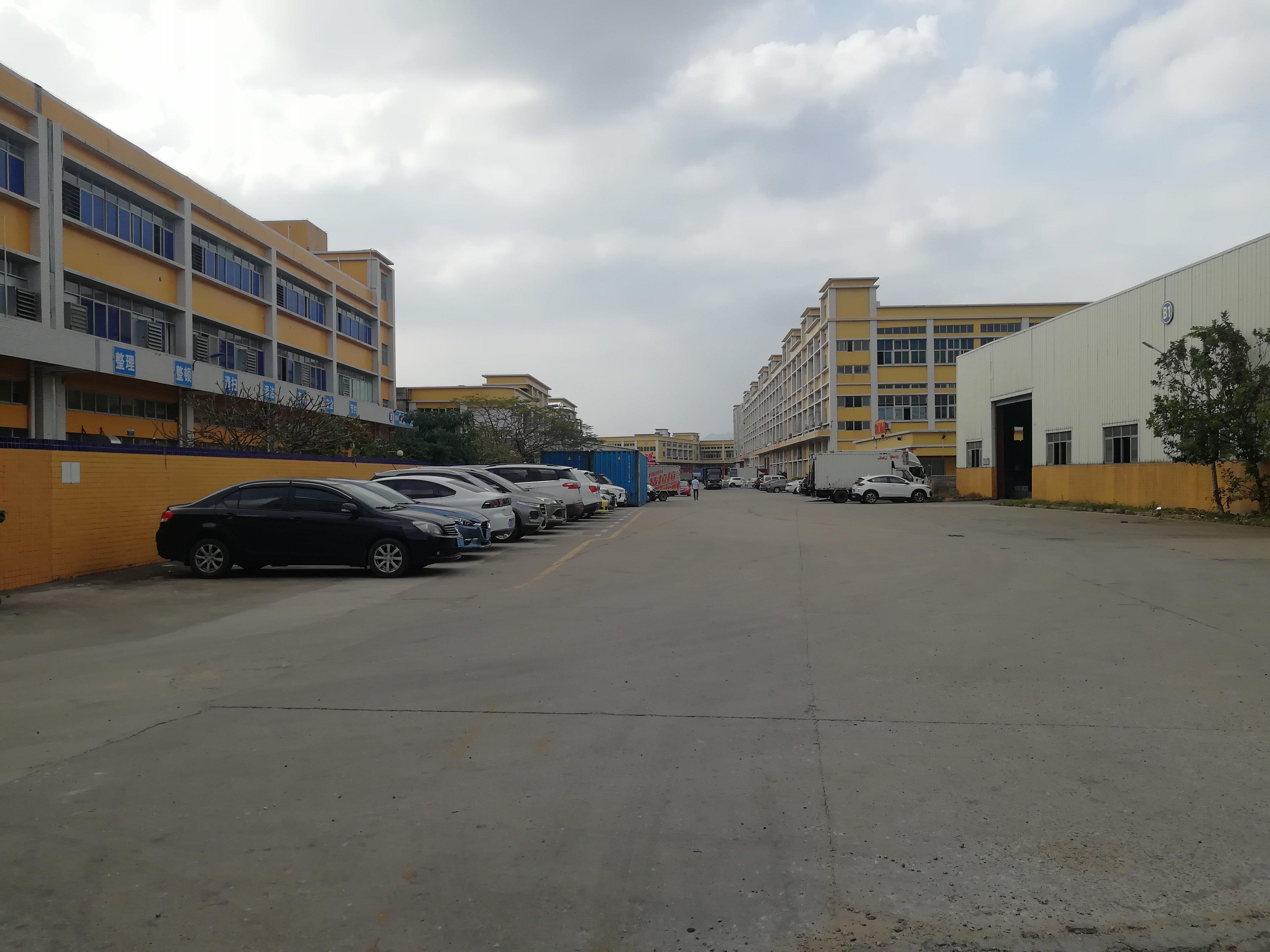 蒋石塘尾新出标准厂房仓库500平,空地大