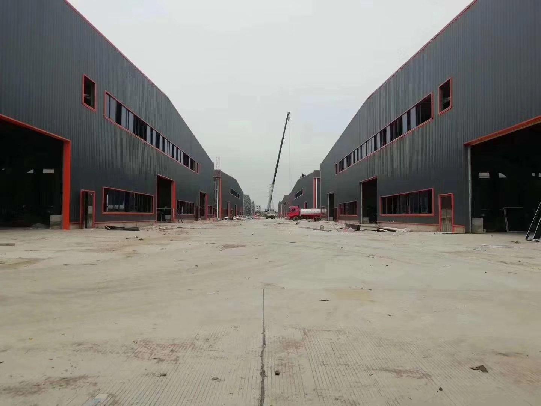 肇庆市四会高新区90000方全新钢结构厂房出租: