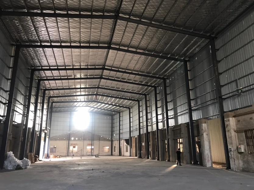 开福区,开福大道旁1800钢结构厂房,平可装行车-图2
