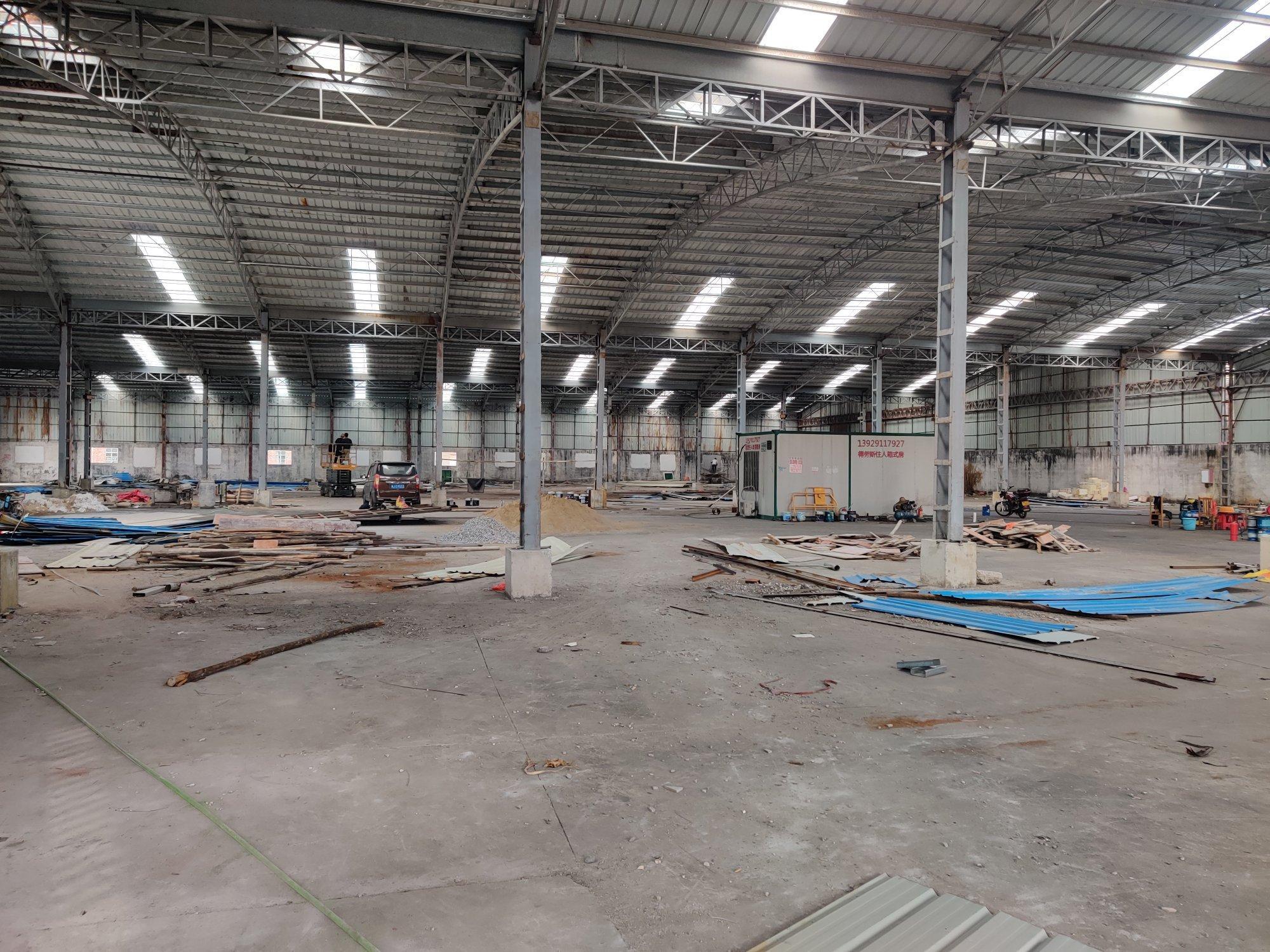 南庄2500平全新钢结构厂房出租