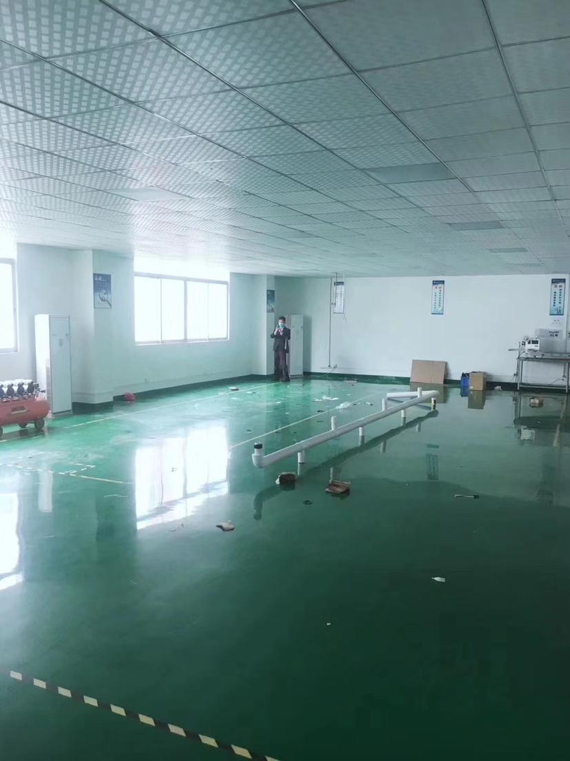 坑梓金沙新出楼上厂房精装修整层1000平招租,可以分租