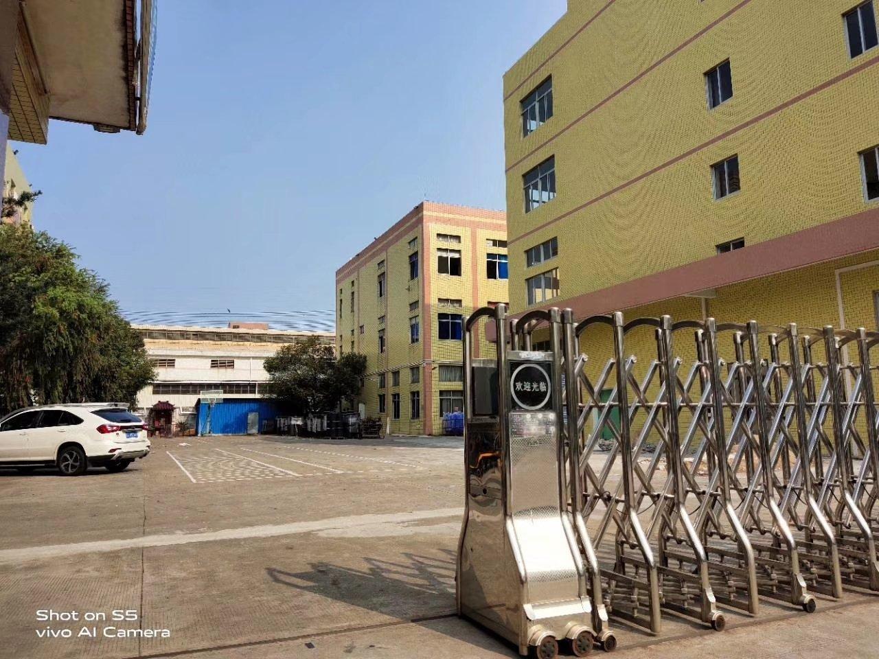 芦苞标准厂房一楼可做注塑模具等行业的厂房,1380平,高米数