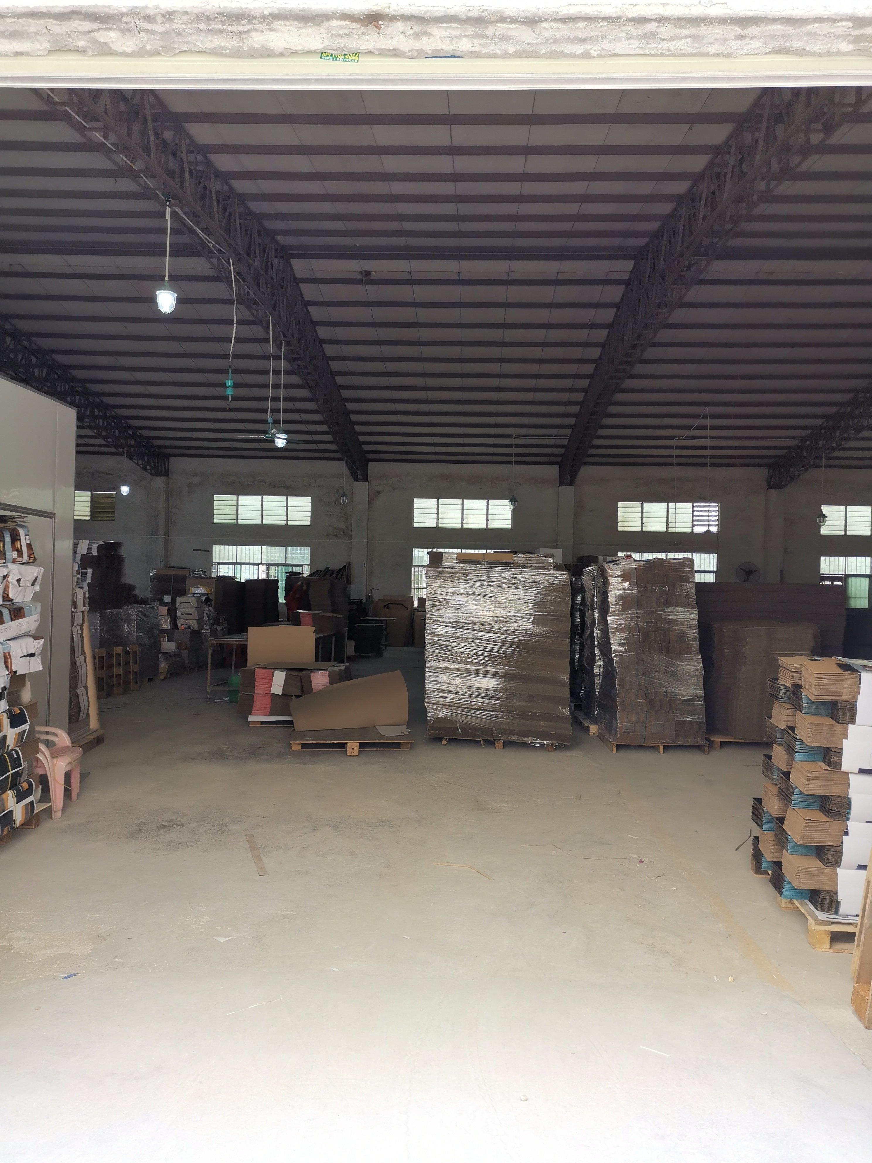 博罗罗阳镇占地6200㎡建筑5400㎡全新单层钢结构580万