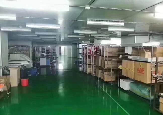 宝安石岩新出医疗级别无尘车间2200平,原房东红本厂房出租。