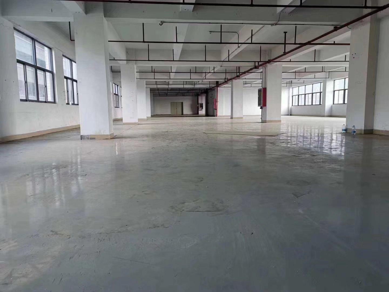 公明原房东将石楼上1300平米精装修厂房出租免转让费价格便宜