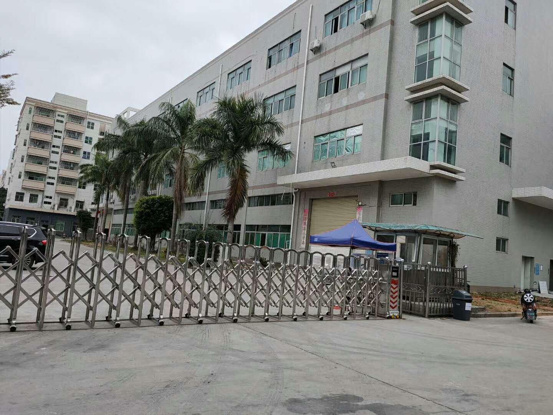 沙井后亭宝安大道边原房东厂房出租:独院厂房1-3层5400平