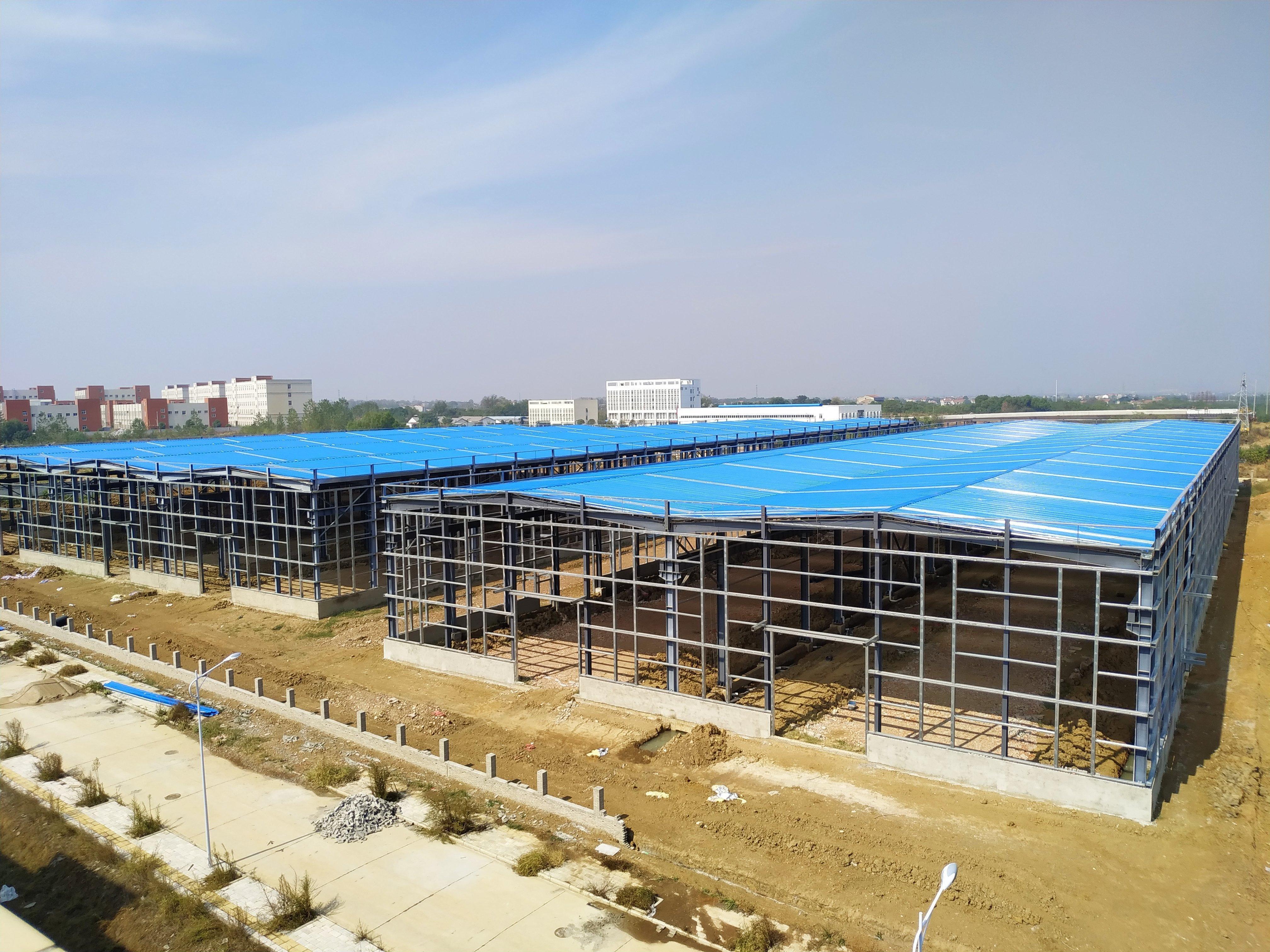 全新钢结构厂房,优惠销售!
