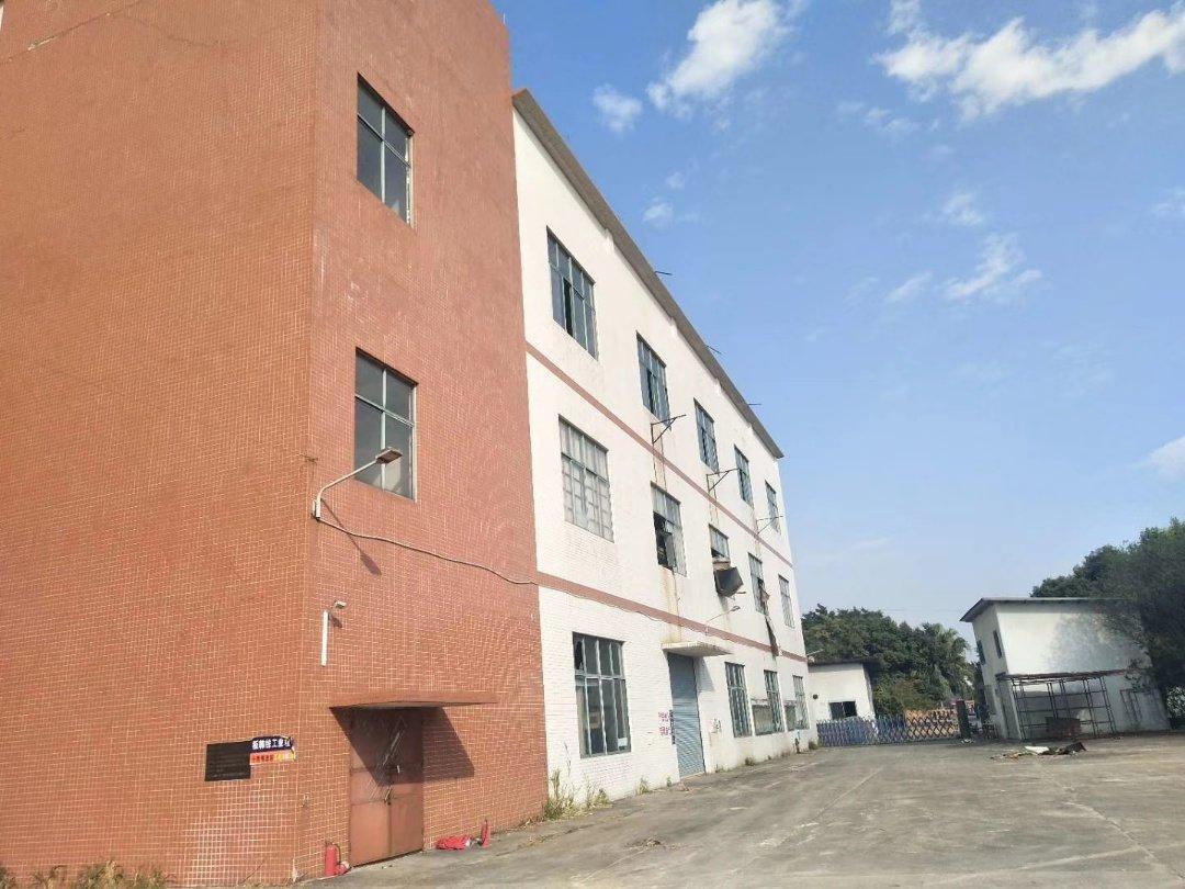 大沥工业园标准厂房3000平,大小可分租,适合印刷化妆机械