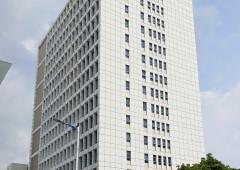 福永万福广场全新精装修高大上写字楼,落地窗,使用率高