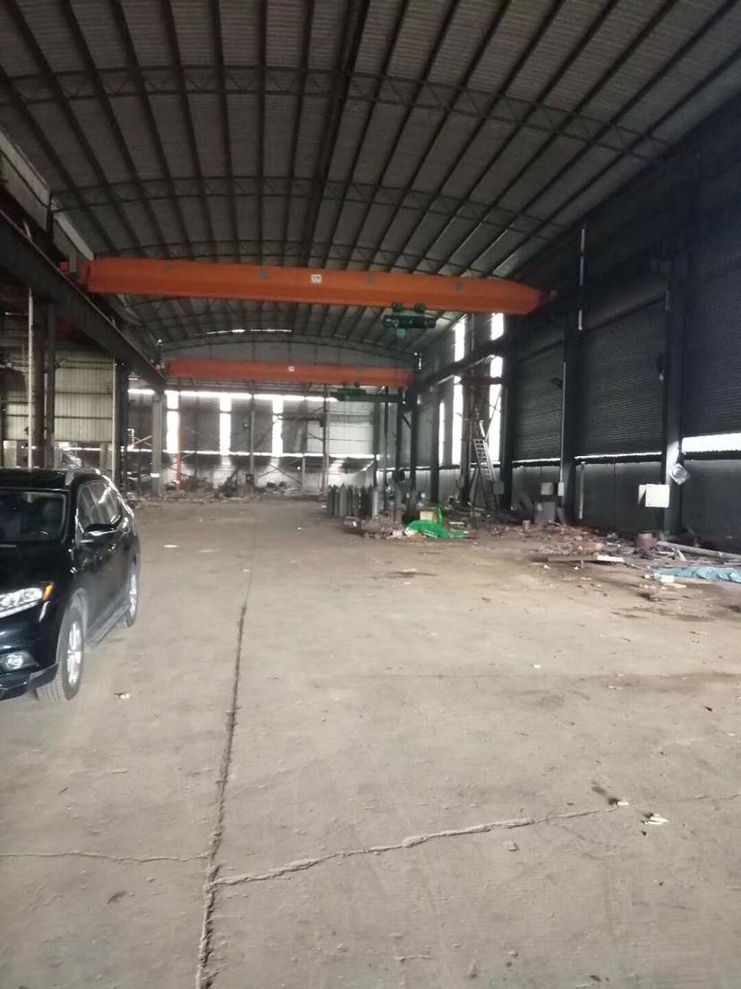 博罗龙溪独院厂房钢构分租2200平滴水10米带2部龙门吊