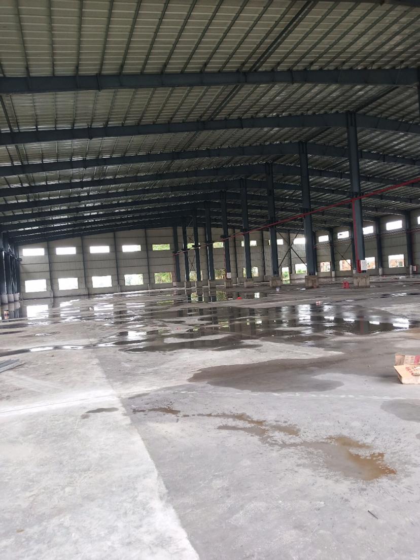 佛山市禅城区全新钢构万博app官方下载滴水9米带牛角