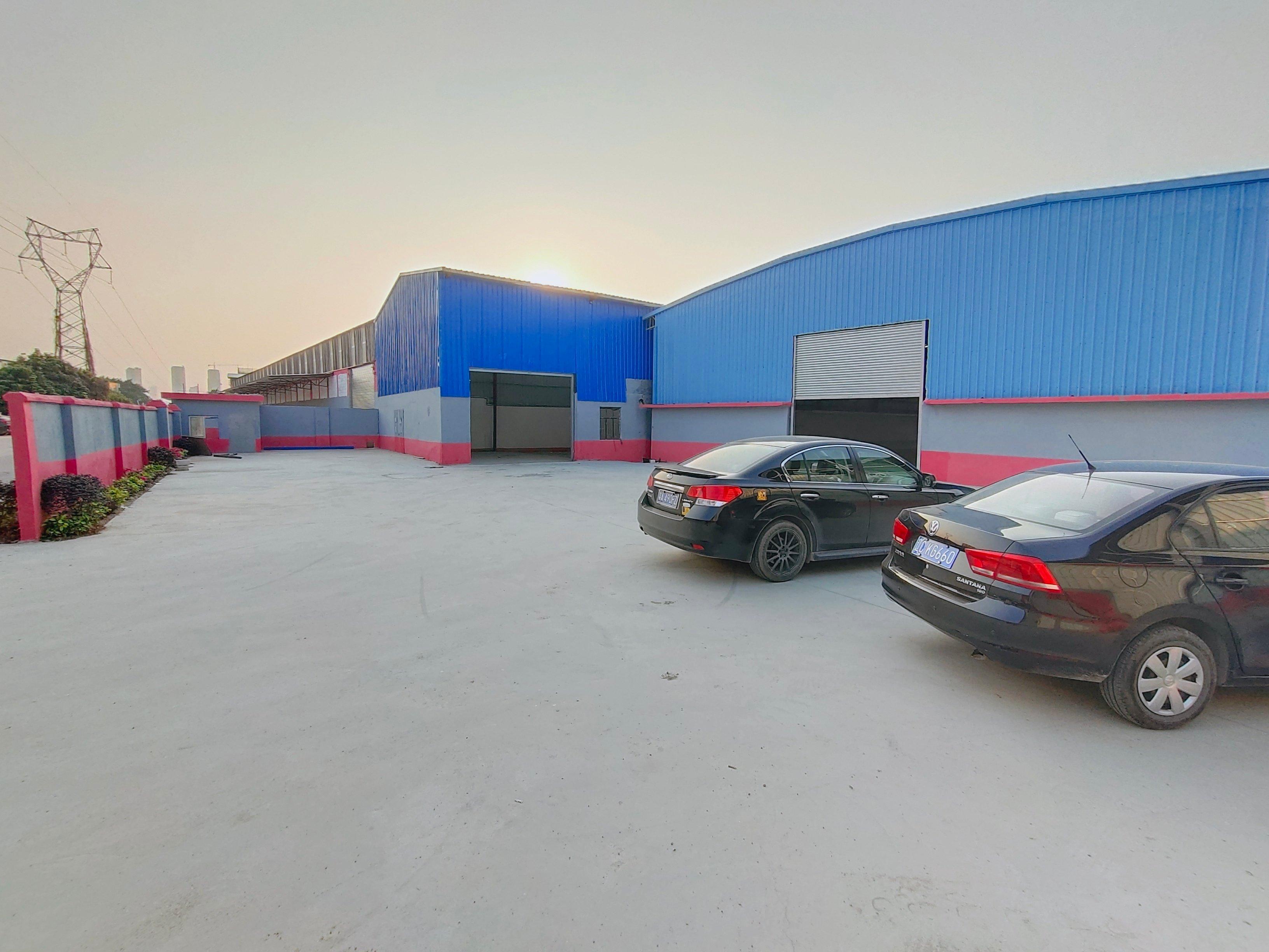 黄埔开发区新出独门独院钢结构厂房、仓库2000平出租。