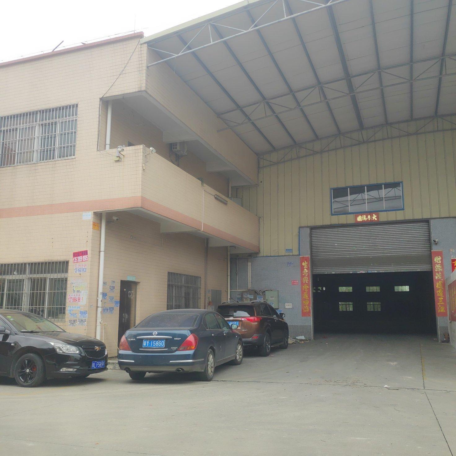 厂房位于罗村镇罗务路旁,村委厂房无公摊面积,车间面积2000