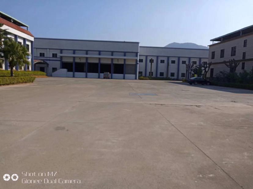 惠州博罗厂房出租花园式单一层厂房出租