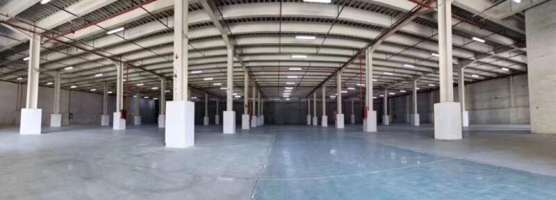 坪山龙田新出标准物流仓库5000平带标准卸货平台和消防喷淋