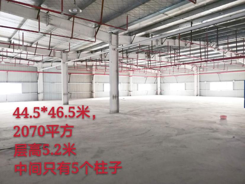 黄花镇工业园丙二类厂房仓库新建2070平米300电