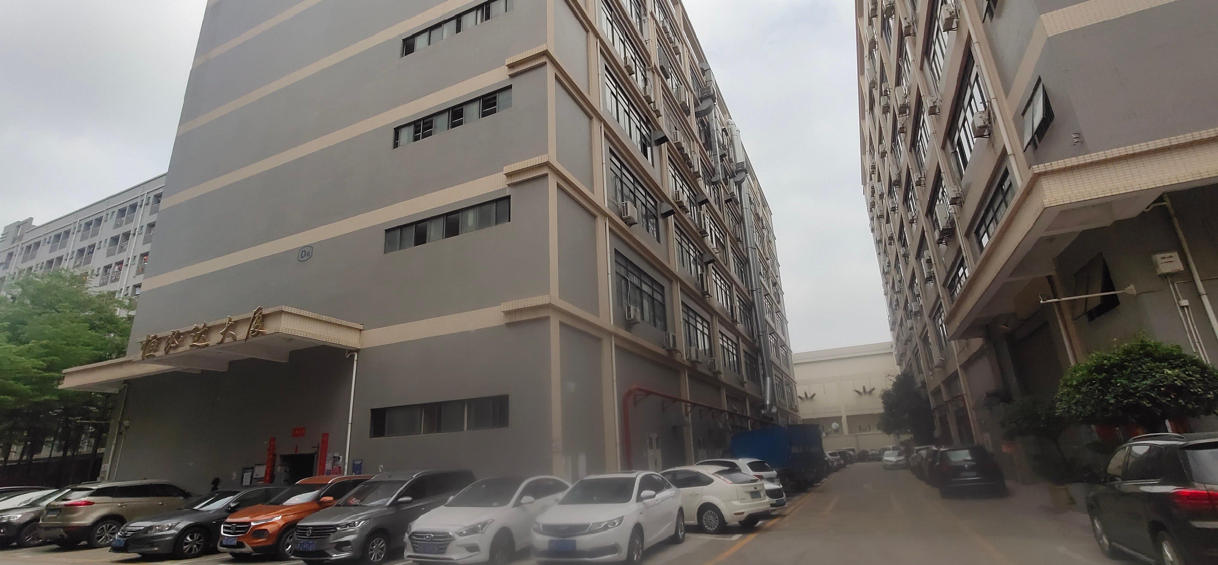 西乡固戍南昌路边3楼2000平厂房出租