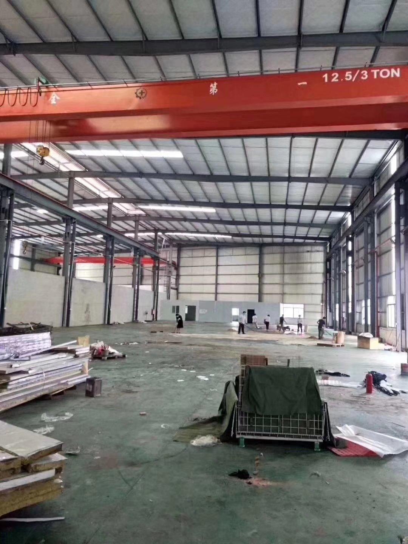 三水芦苞新出12米滴水钢结构厂房,适合重工行业,配15吨航吊