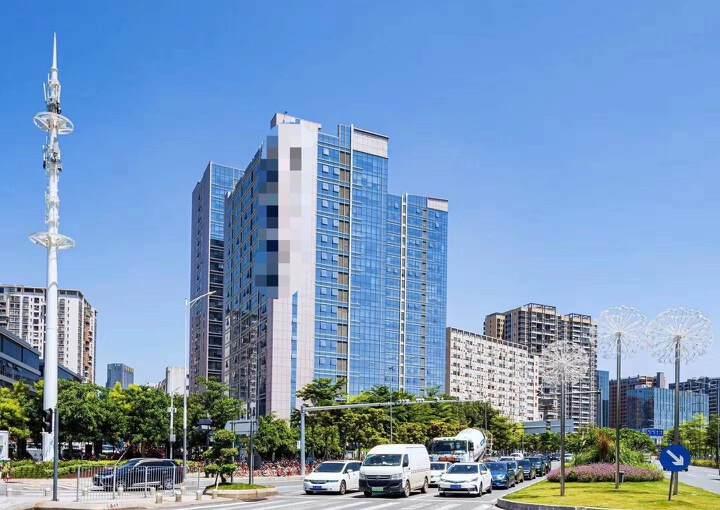 清湖地铁站卫东龙大厦新出精装修368平办公室图片1