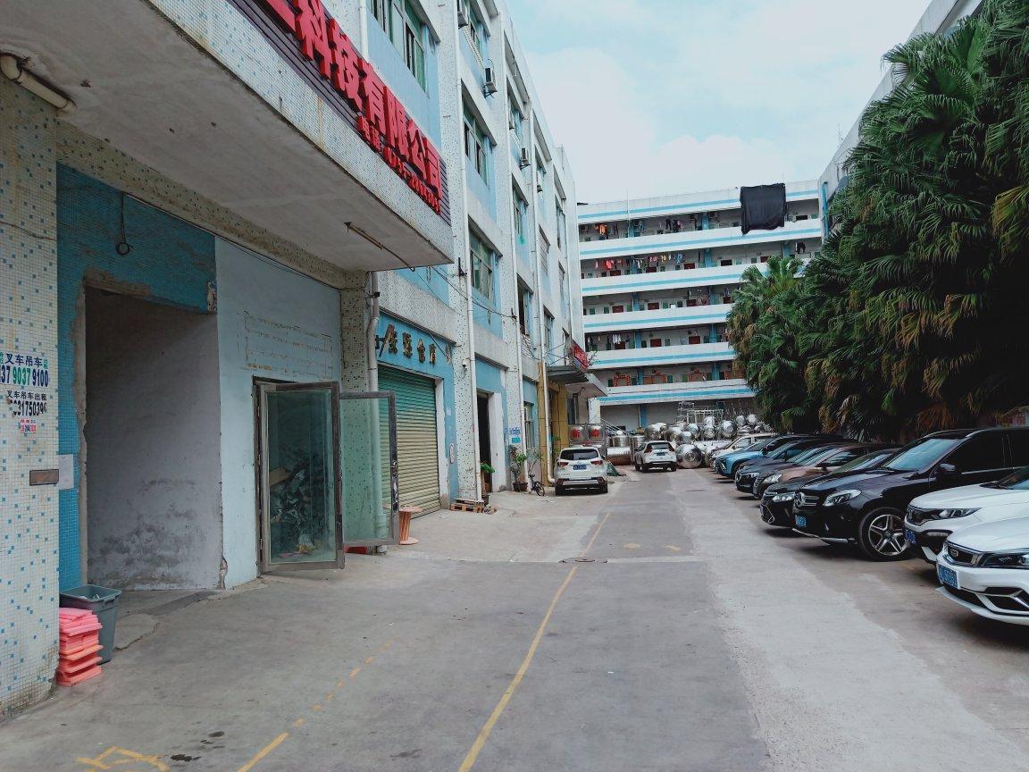 横岗红棉路与水官高速口交汇新出三楼250平厂房招租