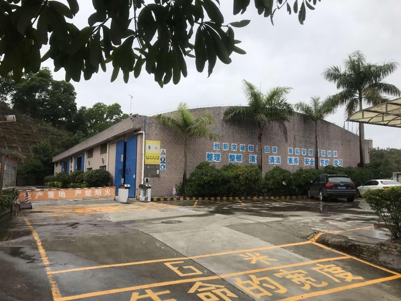 观澜樟坑径原房东钢构厂房仓库出租建筑面积2800平,超大空地