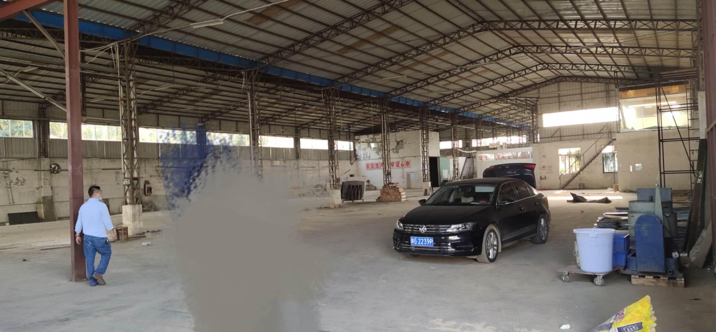 坪山石井原房东独院钢构2300平滴水6.5米