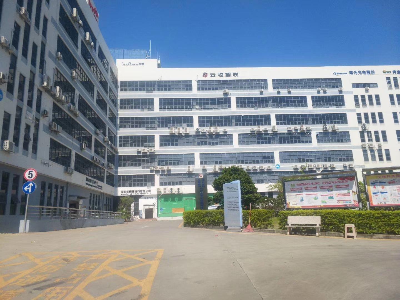 光明原房东花园式工业园区2楼800平方红本厂房