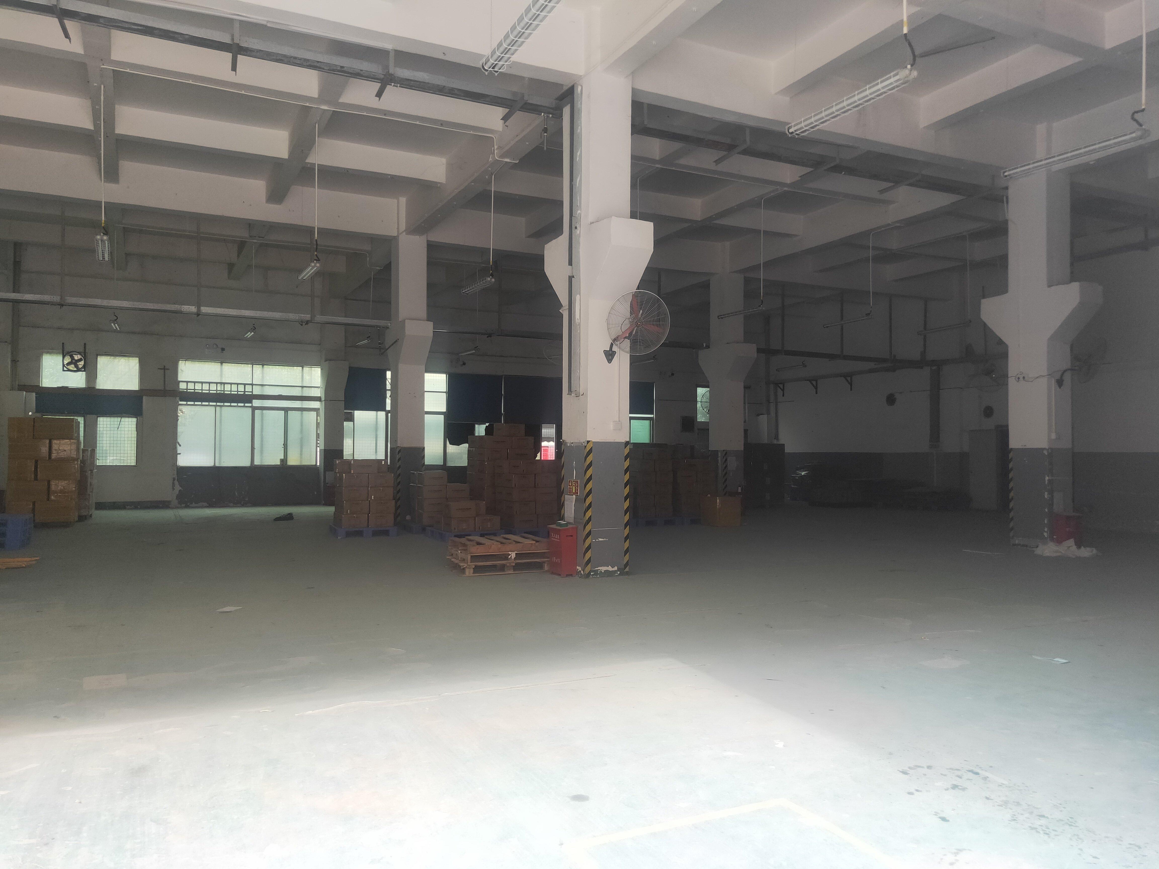 福永怀德独院一楼700平米实际面积厂房出租