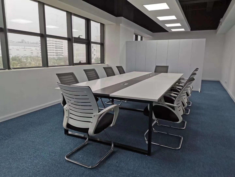 坪山新出二楼标准厂房1200平米带装修办公室地坪漆车间有消防