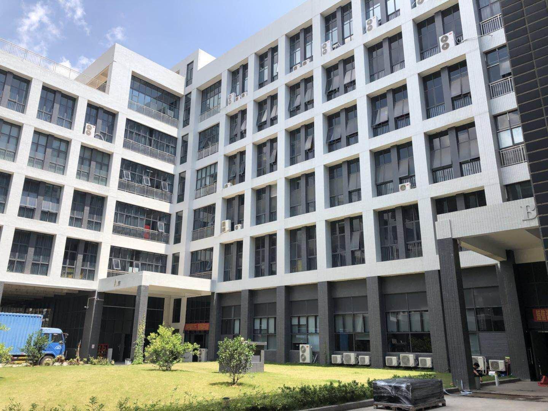 坪山大工业区新出豪华装修二楼960平米红本厂房出租