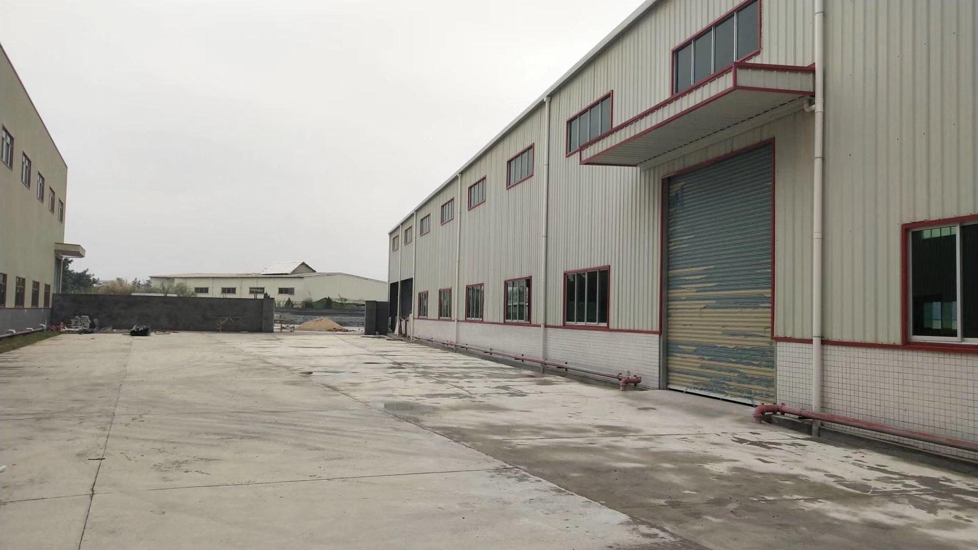 沙头独院单一层钢构厂房5600平米宿舍800平米