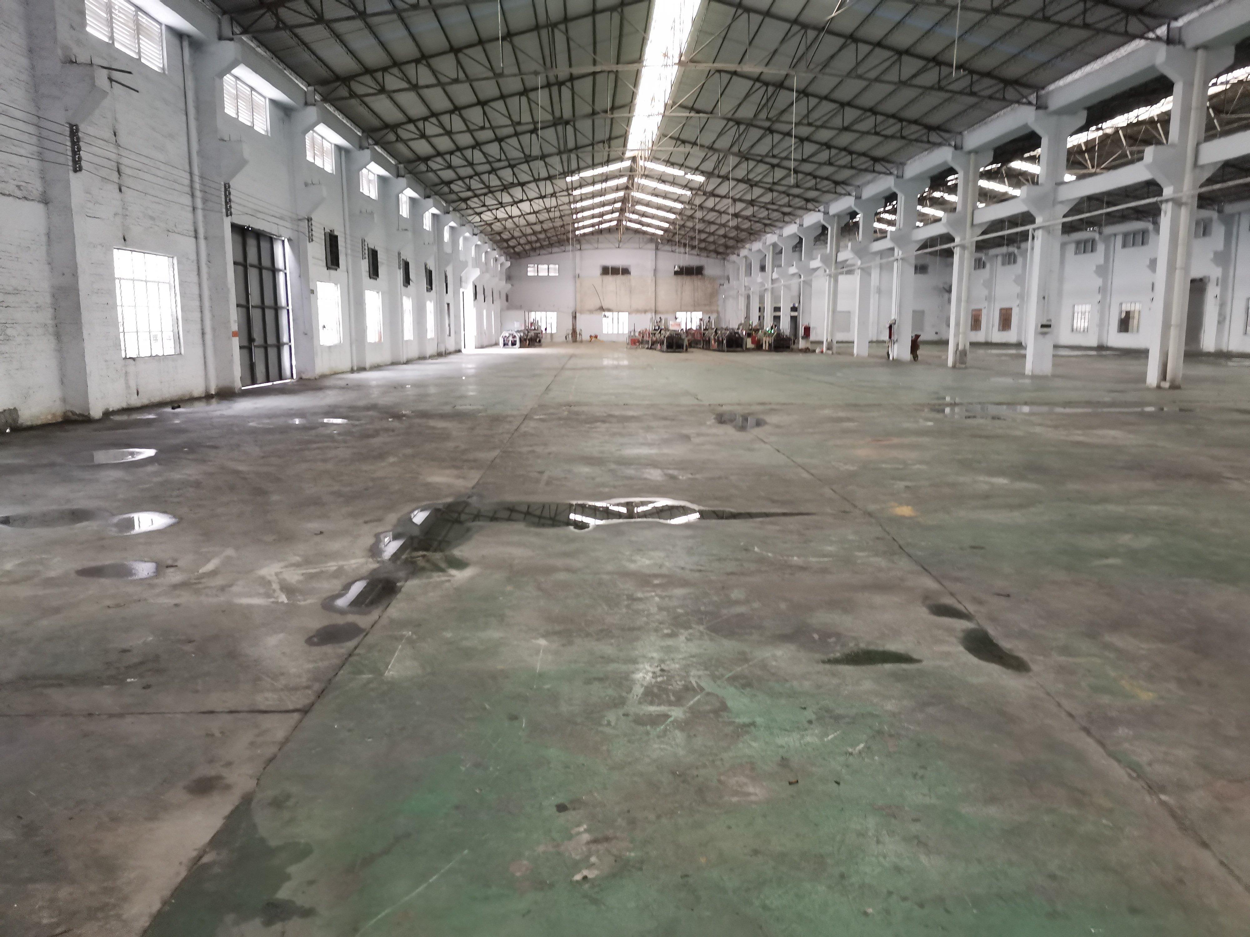 南庄吉利工业区单一层3000平米钢构厂房仓库出租可办环评