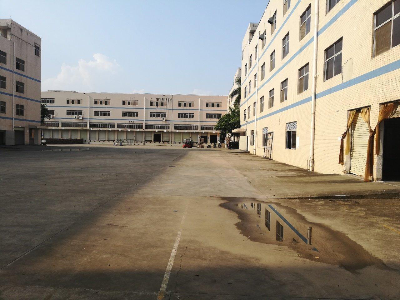 合同12年适合学校原房东厂房~坪山大工业区独院17000平米