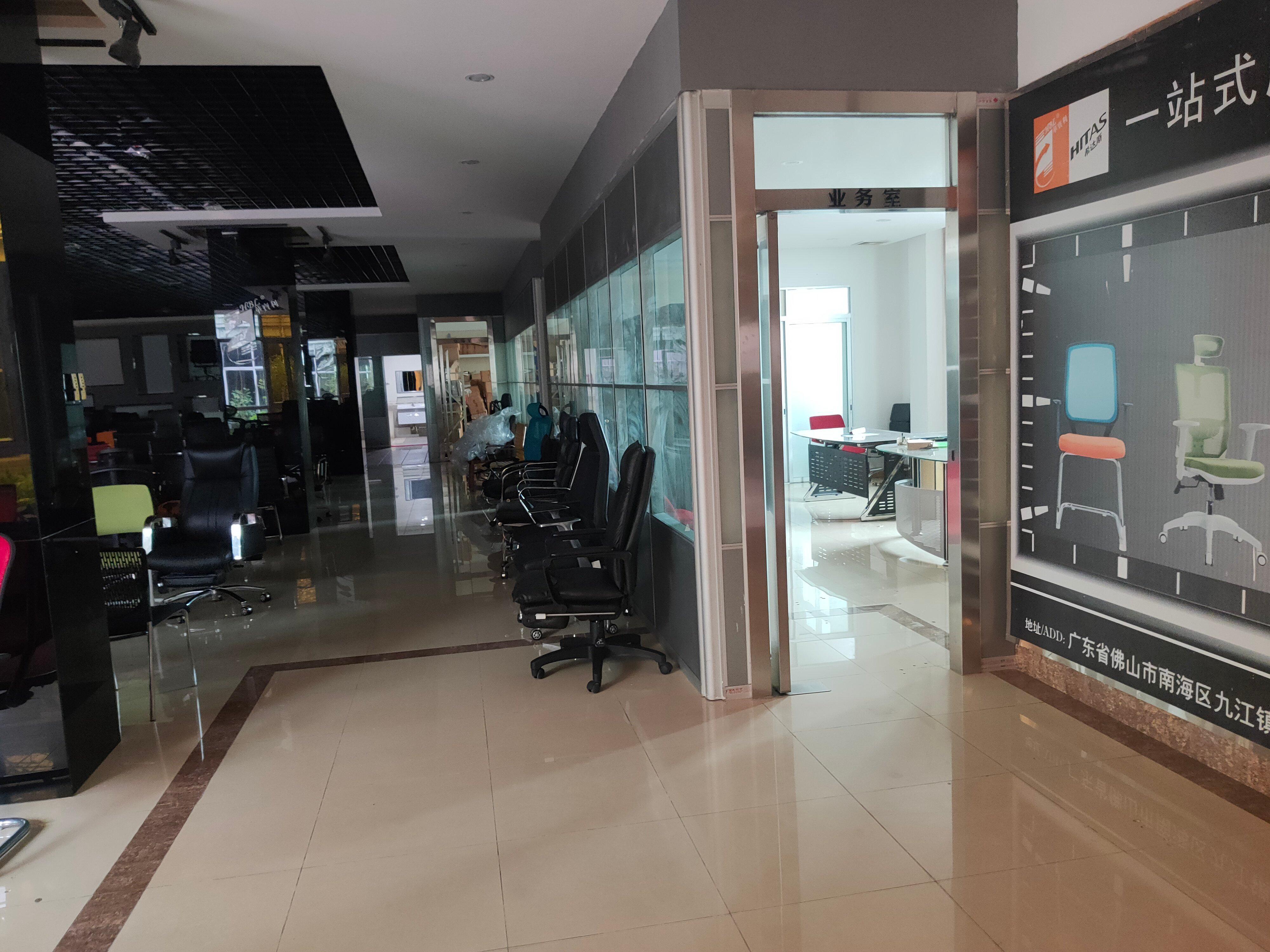 南海区九江镇3000厂房+800展厅办公室带现成家具环评