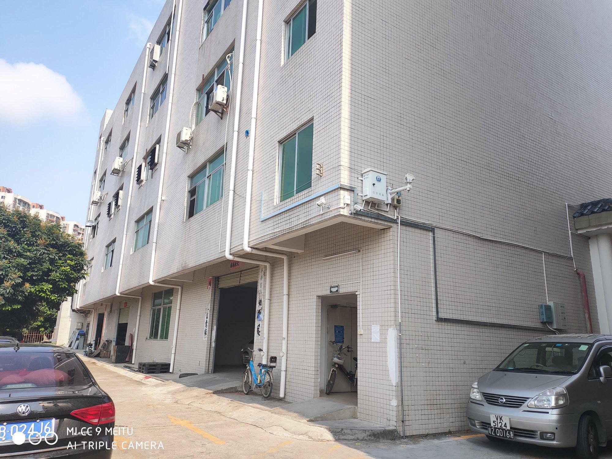深圳龙岗占地4250㎡建筑12500㎡红本厂房出售