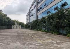 常平镇袁山贝村独院写字楼出租1-4F4000平方豪华装修!
