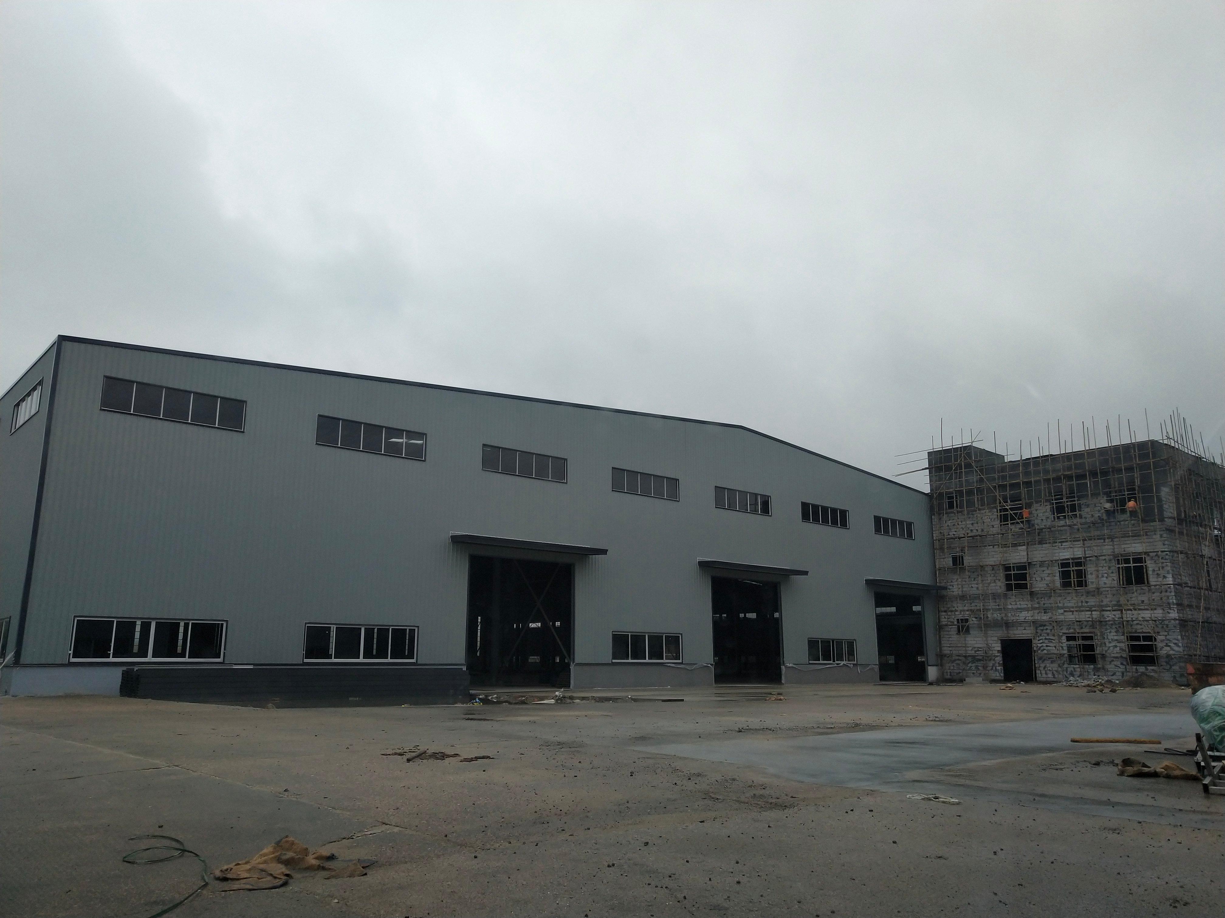 佛山市三水区乐平工业区内原房东独院单一层钢构8500平方急租