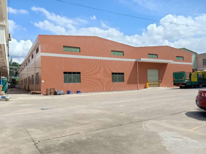 惠州市博罗县新新出单一层钢构厂房3300平方米出租
