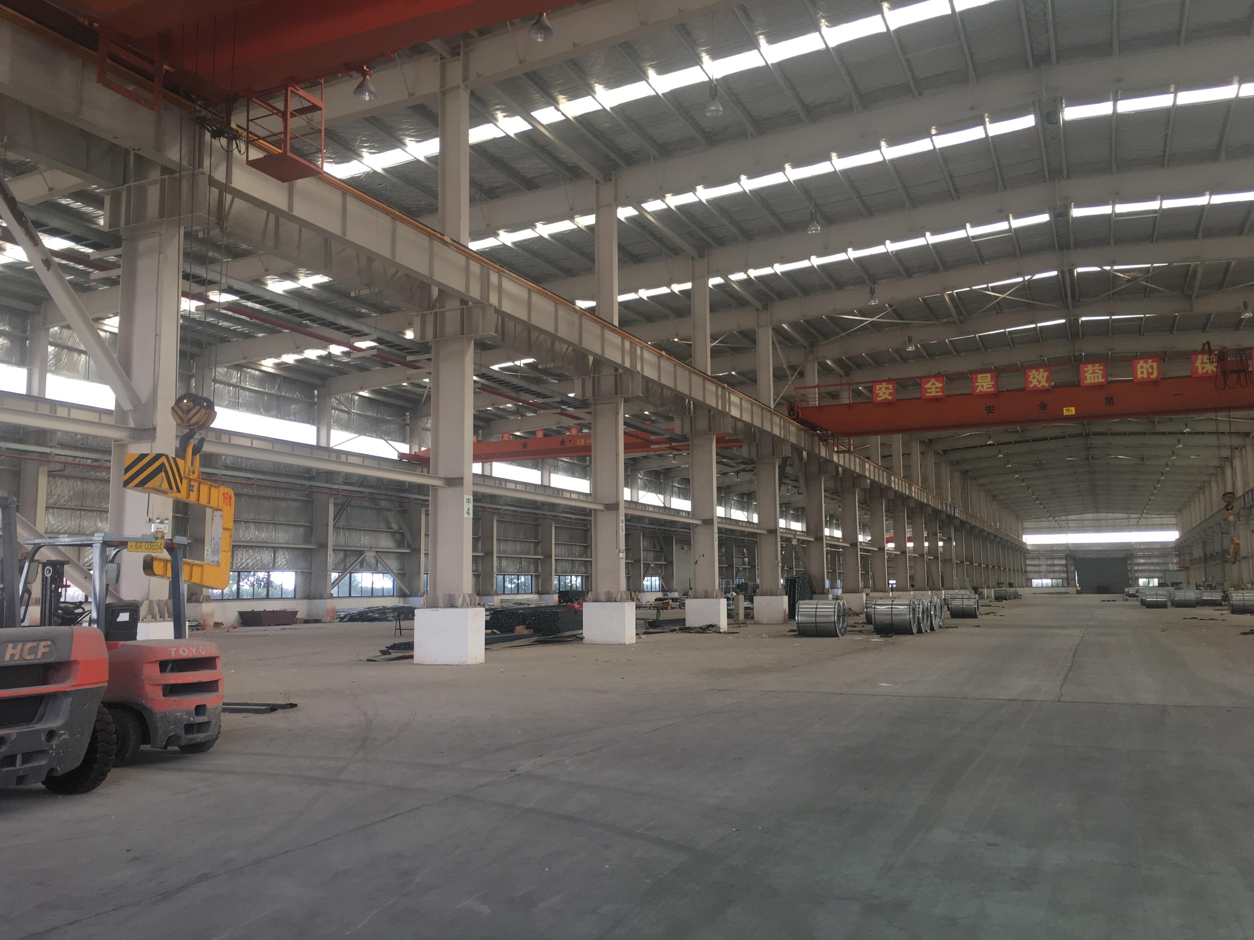 黄陂钢构厂房带航吊,行业不限,价格实惠