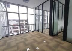 西乡灵芝地铁站精装写字楼出租带办公家私1-20个人办公