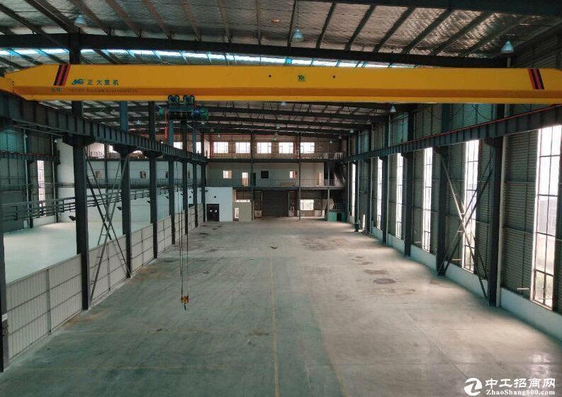 江夏区稀缺钢构厂房,13米滴水高,红本在手