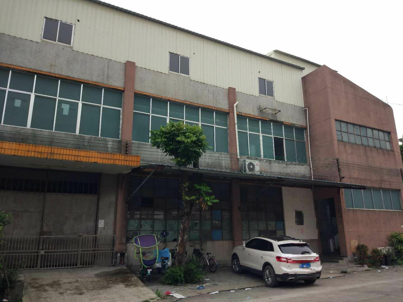 黄埔南岗新出标准钢构厂房仓库3F共1100方出租,可分租